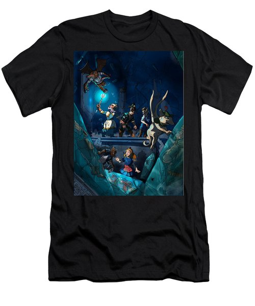 Sacred Burial Chamber Men's T-Shirt (Athletic Fit)