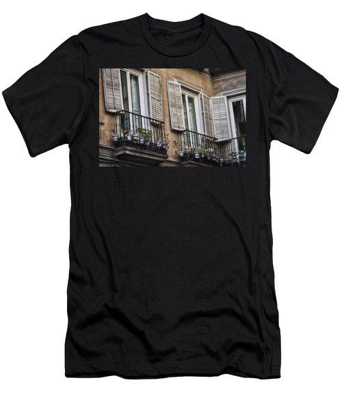 Sad Windows Men's T-Shirt (Athletic Fit)
