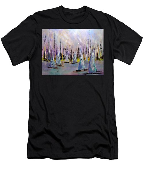 Sail II Men's T-Shirt (Athletic Fit)