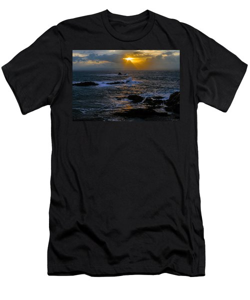 Sail Rock Sunrise Men's T-Shirt (Athletic Fit)
