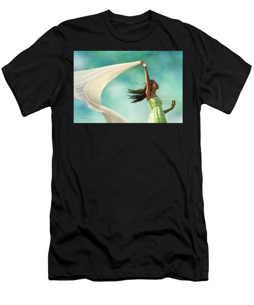 Sailing A Favorable Wind Men's T-Shirt (Athletic Fit)