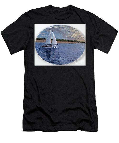 Sailing Homeward Bound Men's T-Shirt (Athletic Fit)