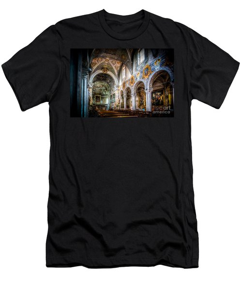 Saint George Basilica Men's T-Shirt (Athletic Fit)