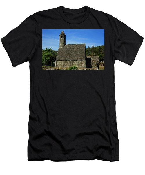 Men's T-Shirt (Athletic Fit) featuring the photograph Saint Kevin's Church by Aidan Moran