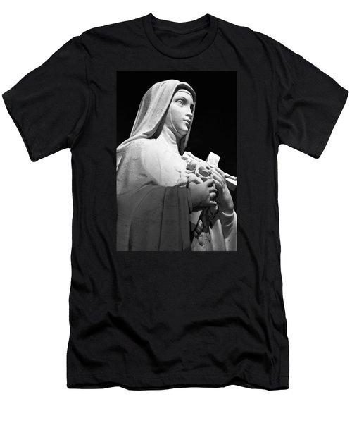 Saint Teresa Men's T-Shirt (Athletic Fit)