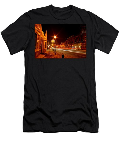 Salem Ohio Christmas Men's T-Shirt (Athletic Fit)