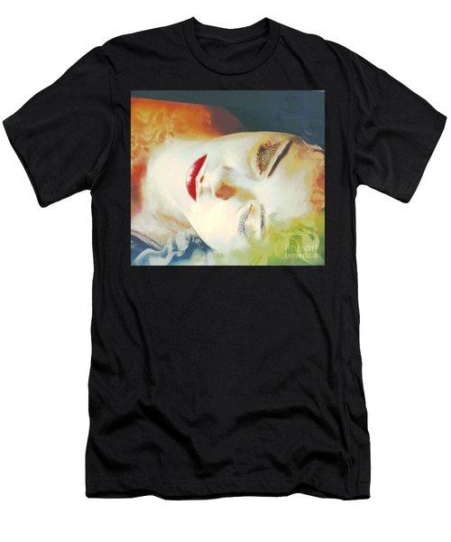 Sally Sleeps Men's T-Shirt (Athletic Fit)
