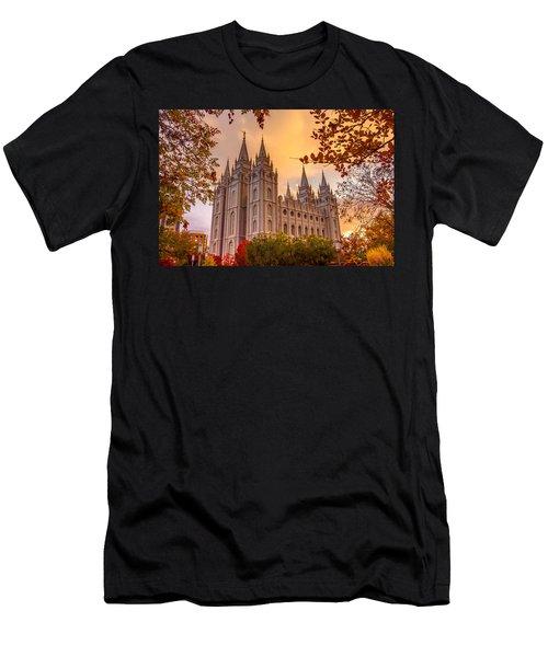 Salt Lake City Temple Men's T-Shirt (Athletic Fit)