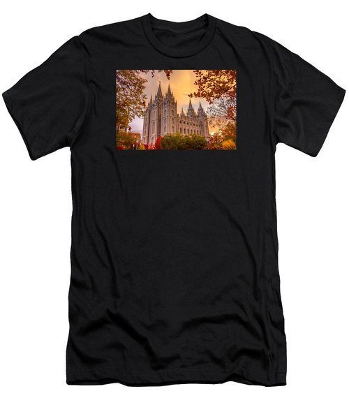Salt Lake City Temple Men's T-Shirt (Athletic Fit)