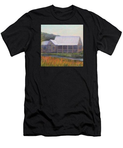 Saltwater Cowboys Men's T-Shirt (Athletic Fit)