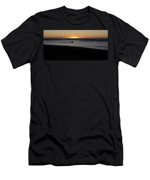 Salty Sunrise Men's T-Shirt (Athletic Fit)