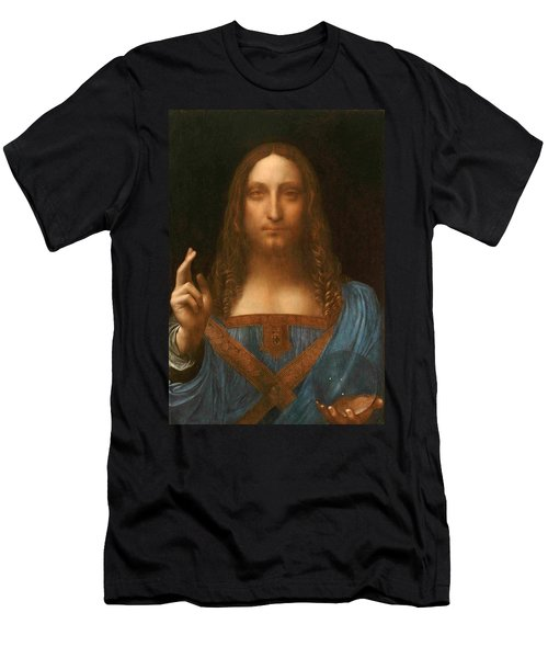 Salvator Mundi Men's T-Shirt (Athletic Fit)