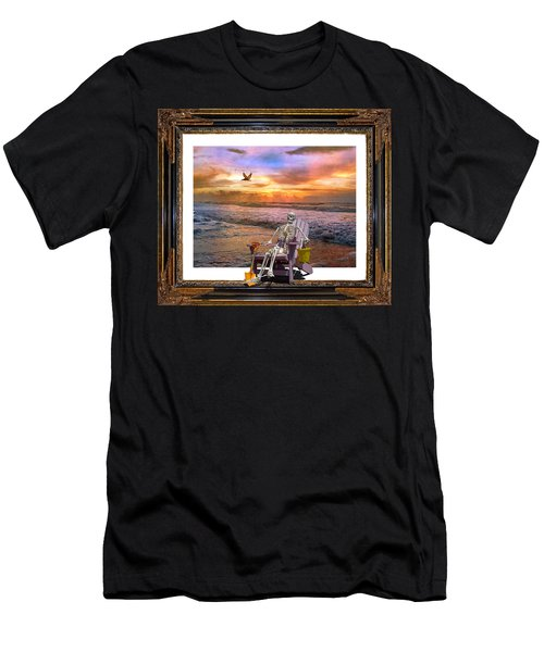 Sam Hangs Out With The Sunrise Men's T-Shirt (Athletic Fit)
