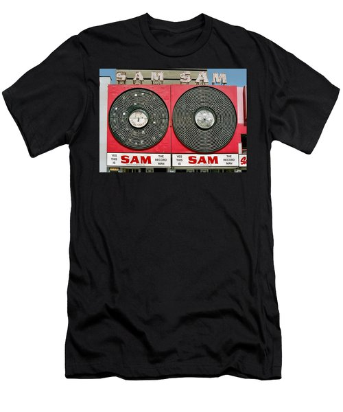 Sam The Record Man Men's T-Shirt (Athletic Fit)
