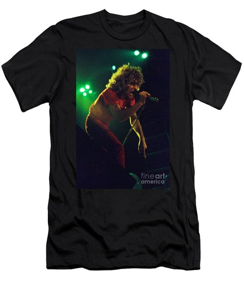 Sammy Hagar New Years Eve At The Cow Palace 12-31-78 Men's T-Shirt (Athletic Fit)