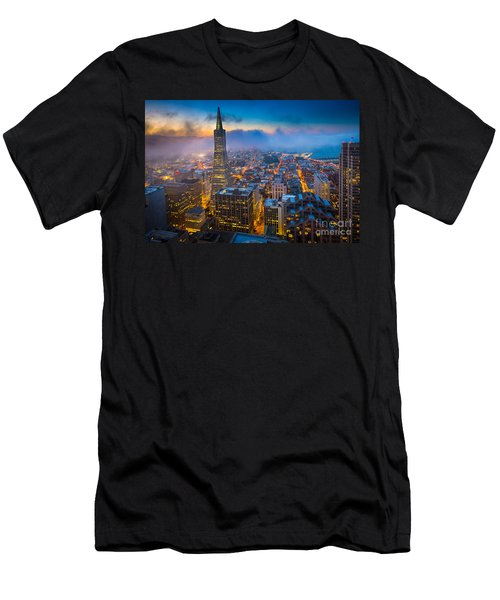 San Francisco After Dark Men's T-Shirt (Athletic Fit)
