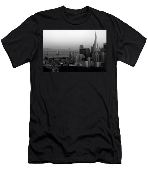 Men's T-Shirt (Athletic Fit) featuring the photograph San Francisco by Aidan Moran
