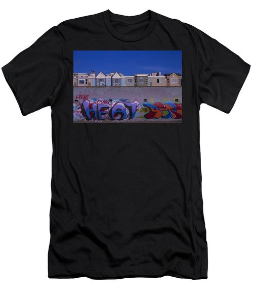 San Francisco Graffiti Men's T-Shirt (Athletic Fit)