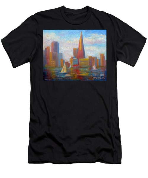 San Francisco Reflections Men's T-Shirt (Athletic Fit)