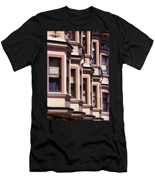 Men's T-Shirt (Slim Fit) featuring the photograph San Francisco Sunshine  by Ira Shander