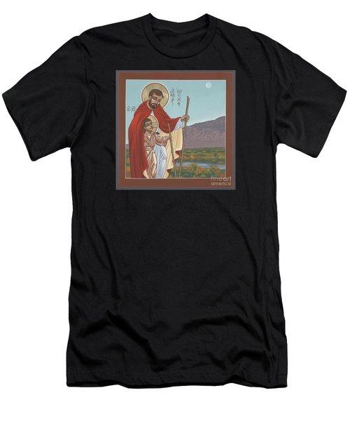 San Jose En El Rio Grande 268 Men's T-Shirt (Athletic Fit)