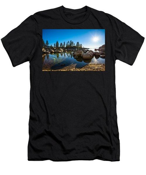 Sand Harbor Star Men's T-Shirt (Athletic Fit)