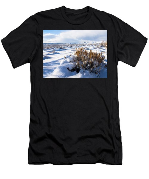 Sand Wash Basin In The Winter Men's T-Shirt (Athletic Fit)