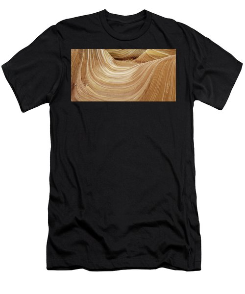 Sandstone Lines Men's T-Shirt (Athletic Fit)