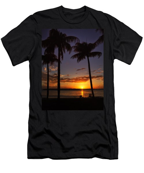 Sanibel Island Sunset Men's T-Shirt (Athletic Fit)