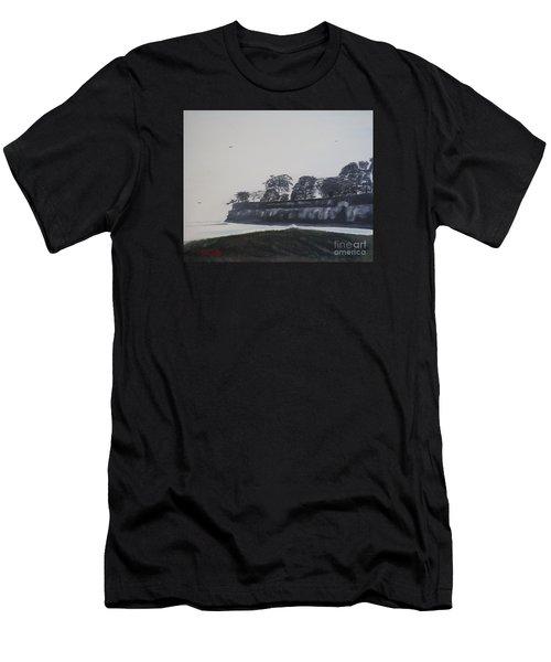 Santa Barbara Shoreline Park Men's T-Shirt (Athletic Fit)