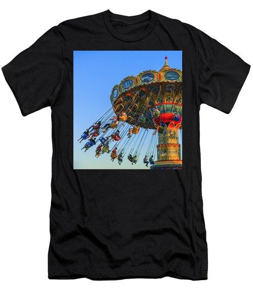 Santa Cruz Seaswing At Sunset 5 Men's T-Shirt (Athletic Fit)