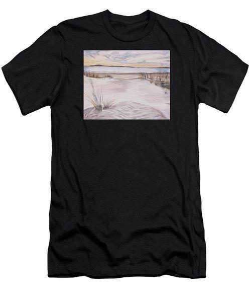 Santa Cruz Sunset Men's T-Shirt (Athletic Fit)