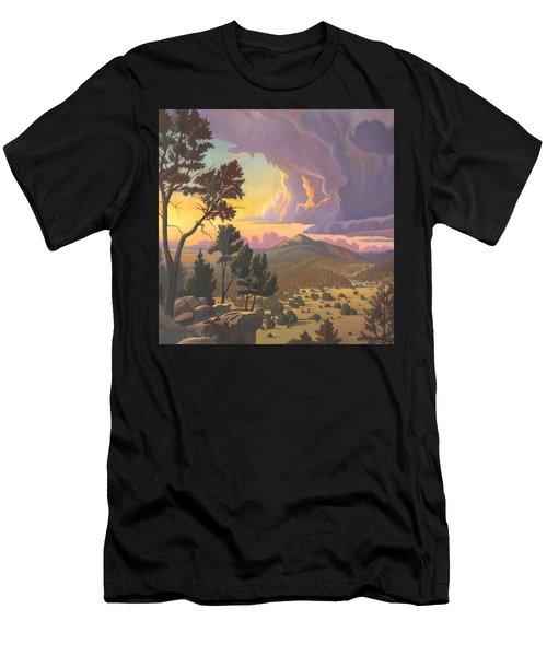 Santa Fe Baldy - Detail Men's T-Shirt (Athletic Fit)