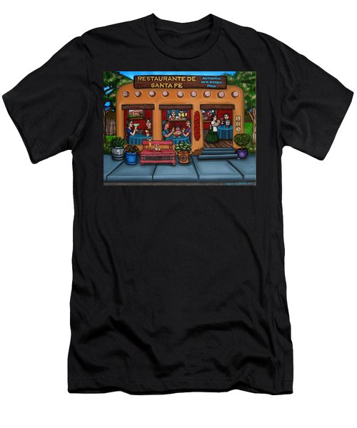 Santa Fe Restaurant Men's T-Shirt (Athletic Fit)
