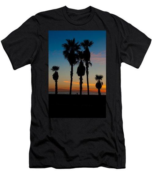 Santa Monica Sunset Men's T-Shirt (Athletic Fit)