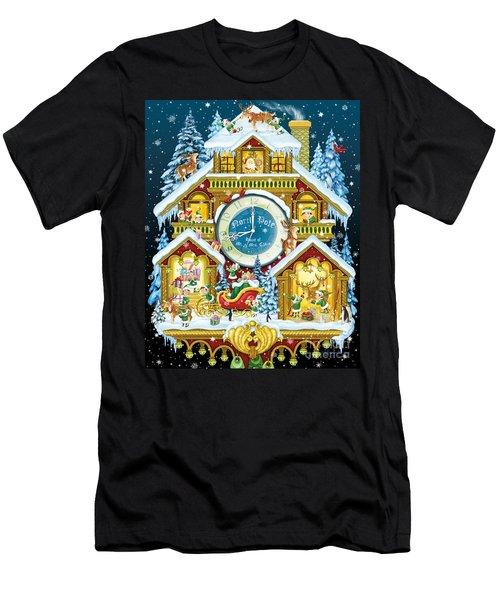 Santas Workshop Cuckoo Clock Men's T-Shirt (Athletic Fit)