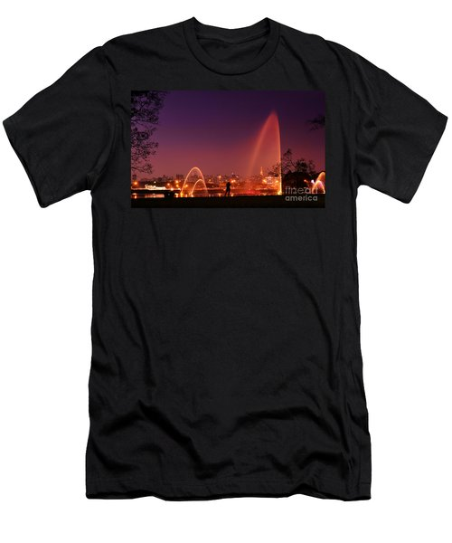 Sao Paulo - Ibirapuera Park At Dusk - Contemplation Men's T-Shirt (Athletic Fit)