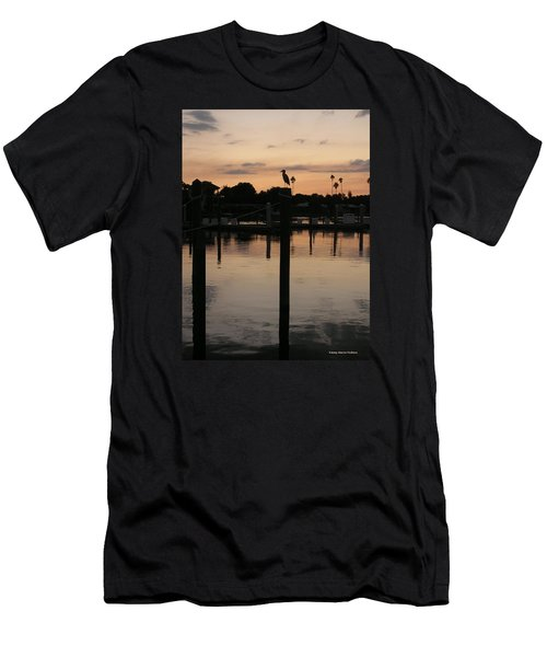 Sarasota Sunset Men's T-Shirt (Slim Fit) by Emmy Marie Vickers