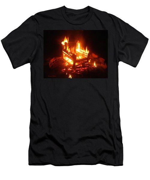 Men's T-Shirt (Slim Fit) featuring the photograph Satan's Arm Chair by Shana Rowe Jackson