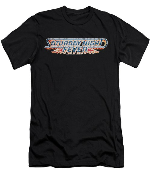 Saturday Night Fever - Logo Men's T-Shirt (Athletic Fit)