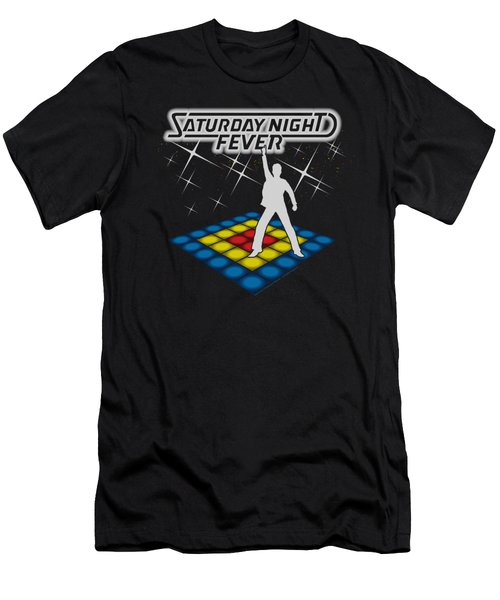 Saturday Night Fever - Should Be Dancing Men's T-Shirt (Athletic Fit)