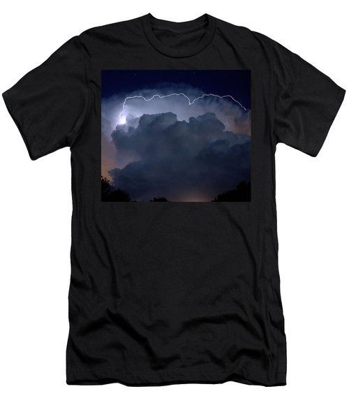 Men's T-Shirt (Slim Fit) featuring the photograph Scalloped Edge by Charlotte Schafer