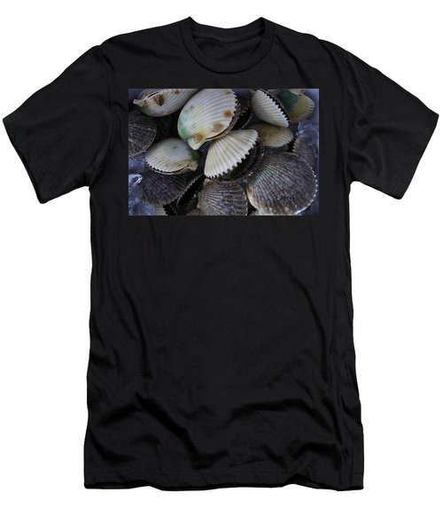 Scallops Men's T-Shirt (Slim Fit) by Laurie Perry
