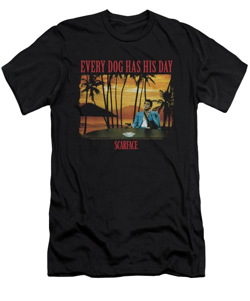 Scarface - A Dog Day Men's T-Shirt (Athletic Fit)