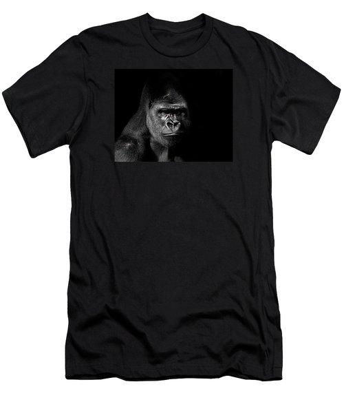 Scarface Men's T-Shirt (Slim Fit) by Jim Garrison