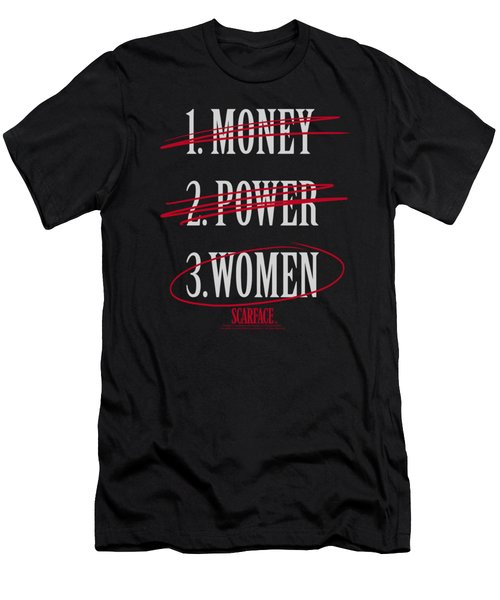 Scarface - Money Power Women Men's T-Shirt (Athletic Fit)