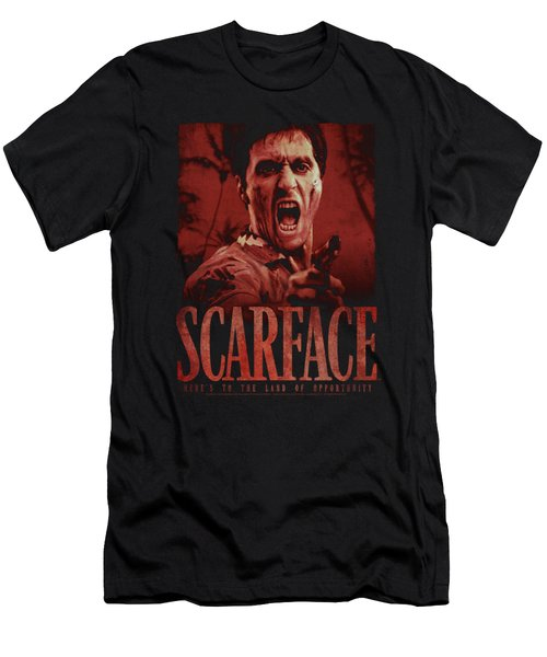 Scarface - Opportunity Men's T-Shirt (Athletic Fit)