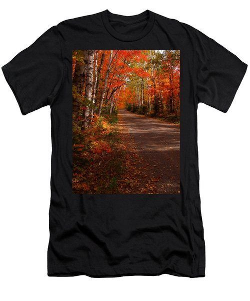 Scenic Maple Drive Men's T-Shirt (Athletic Fit)
