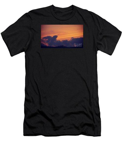 Scenic Sunset Men's T-Shirt (Athletic Fit)
