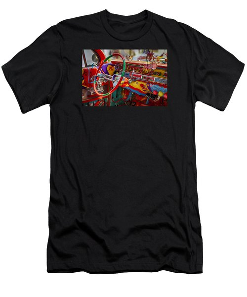 Scharfs Bomb Cadi Ultima Suprema Deluxa Interior Graffiti Men's T-Shirt (Athletic Fit)